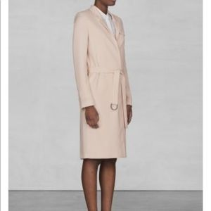 Light blush trench coat from And other stories